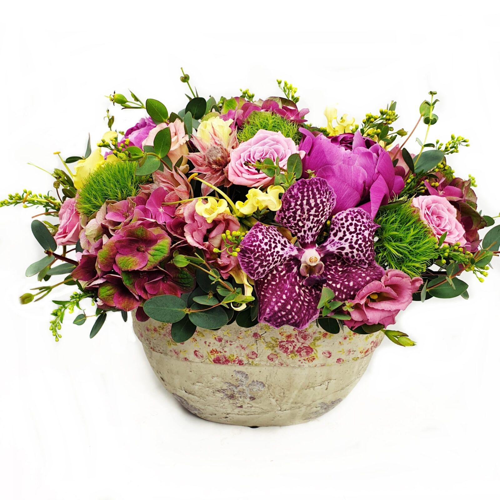 PINK IN VAS PICTAT 1 scaled e1592491499991 - Blog - Florarie Online Curtea de Arges